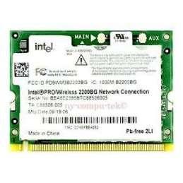 OPCIONES/REPUESTOS PORTATILES Intel Wireless LAN Mini-PCI card (G86C0000X710)